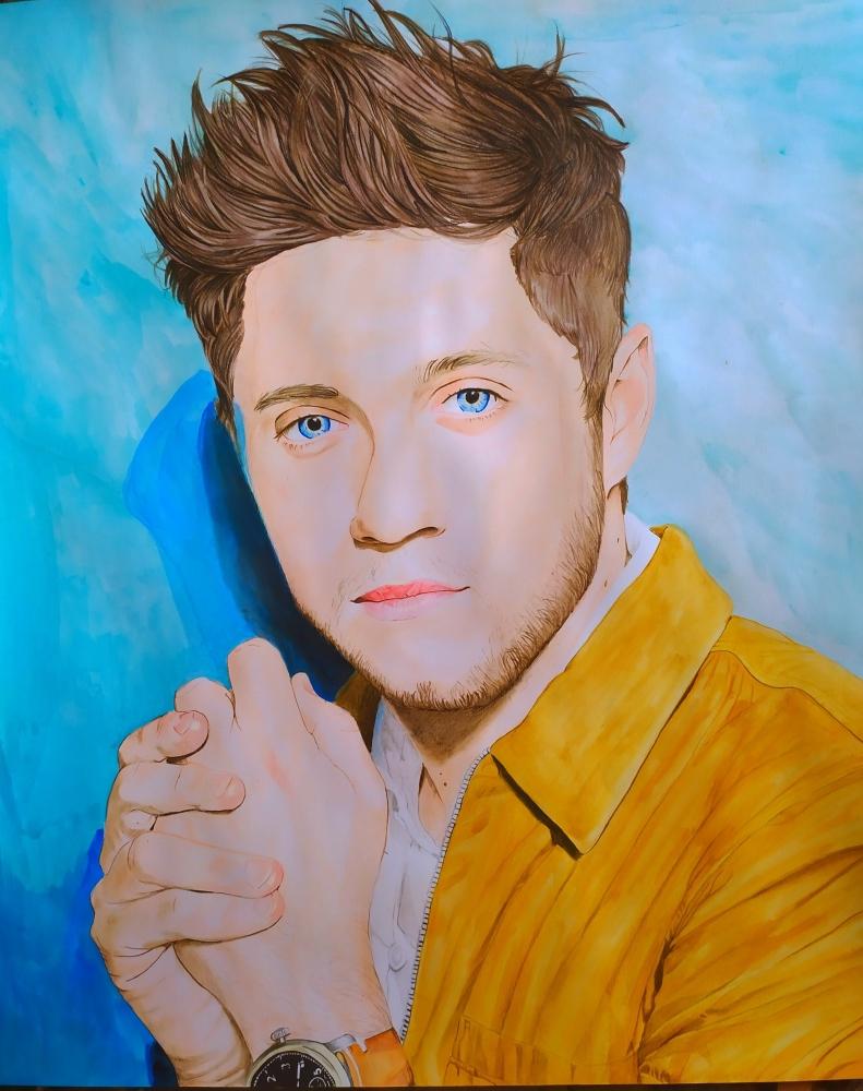 Niall Horan par Erni